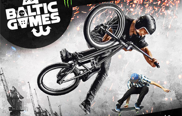 Plakat Baltic Games