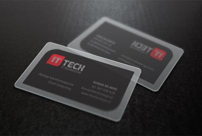 Wizytówki IT-Tech